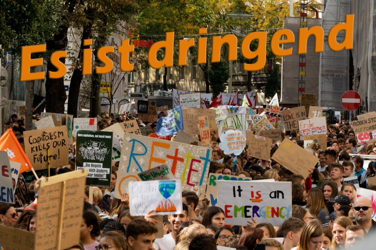 Zum Klima-Aktionstag 25.9.2020: Es istdringend!