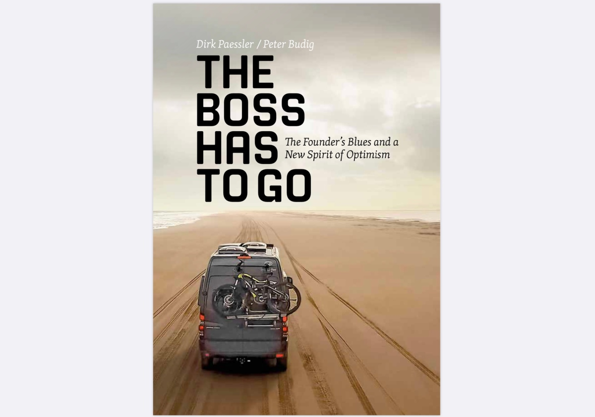 """The boss has to go"": I wrote a book"