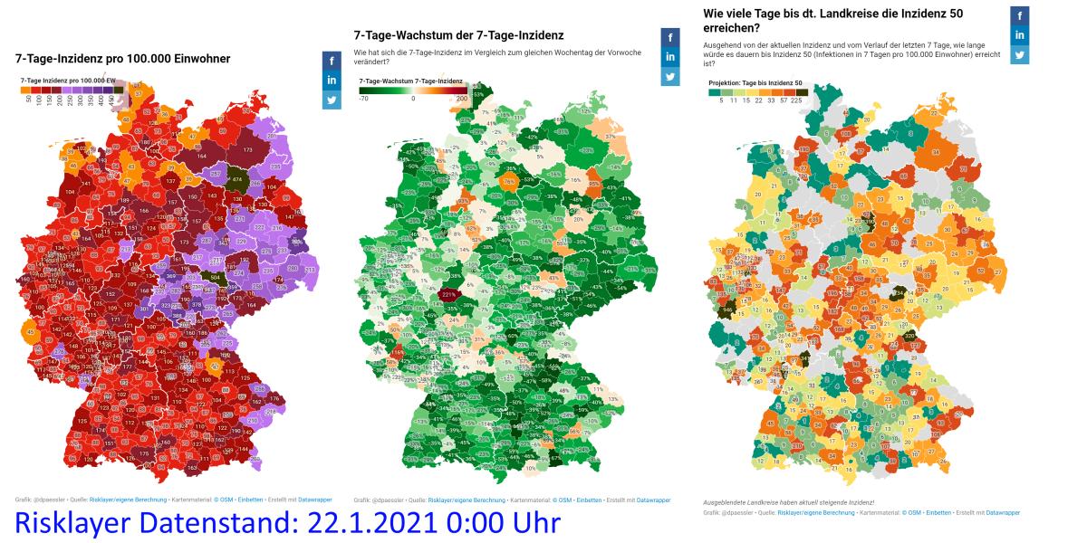 Wie man Live-Landkreis-Karten aus den Risklayer-Corona-Daten macht – ohneProgrammieren
